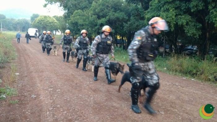 Operação Policial em Sananduva e Cacique Doble/RS 5