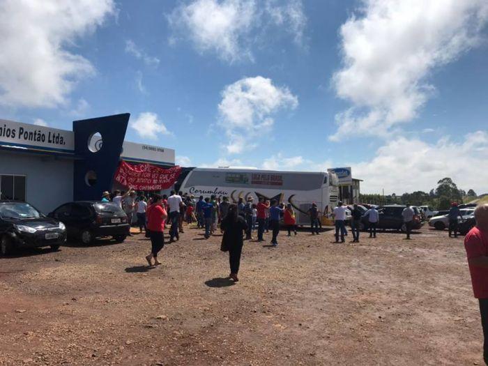 Manifestações contra o lula em Passo Fundo/RS