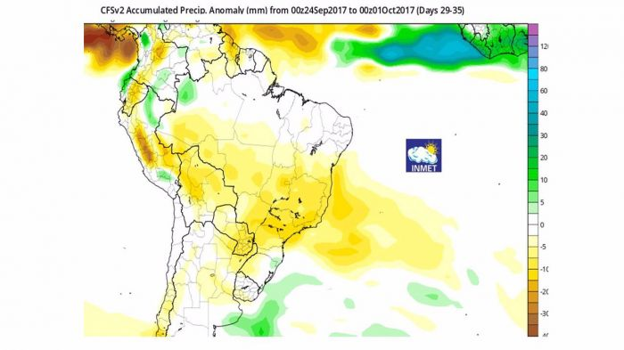 Mapa Brasil Inmet