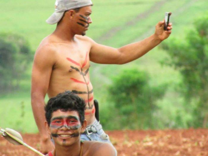 Invasão Guaíra - Questão Indígena