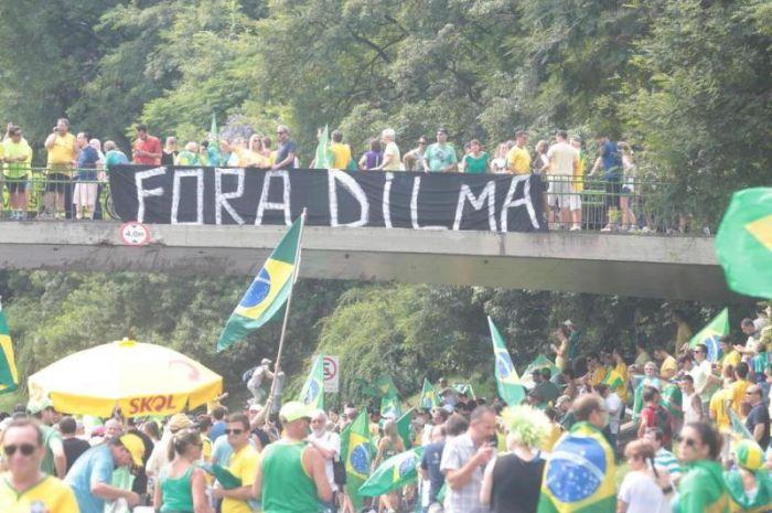 Protestos - Porto Alegre (RS), Foto: Ricardo Duarte / Agencia RBS