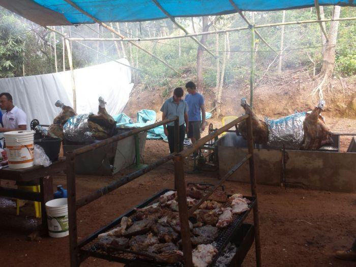 Imagem do Dia - Festa da colheita de soja da Batavo em Balsas (MA)