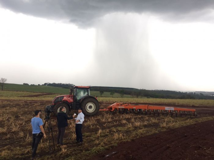 Chuvas em Cardoso (SP). Imagem enviada por Fred Olivi