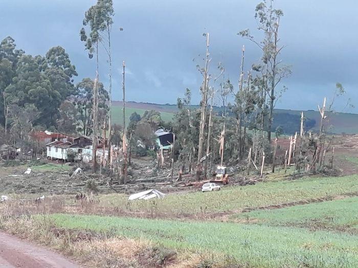 Chuvas na região de Pontão -RS