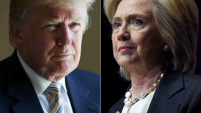 Donald Trump x Hillary Clinton Eleições EUA 2016