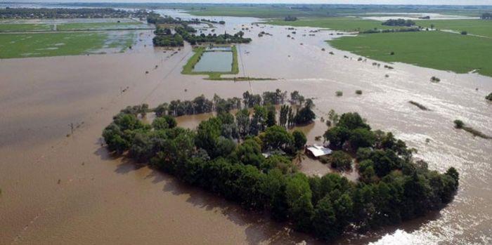 Chuvas na Argentina - 2017