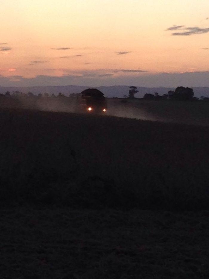 Imagem do Dia - Colheita de soja em Pimenta (MG), do produtor Sabino Macedo