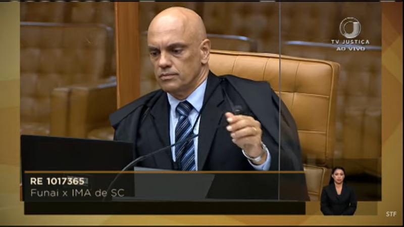 Ministro Alexandre de Moraes, STF - Foro Reprodução