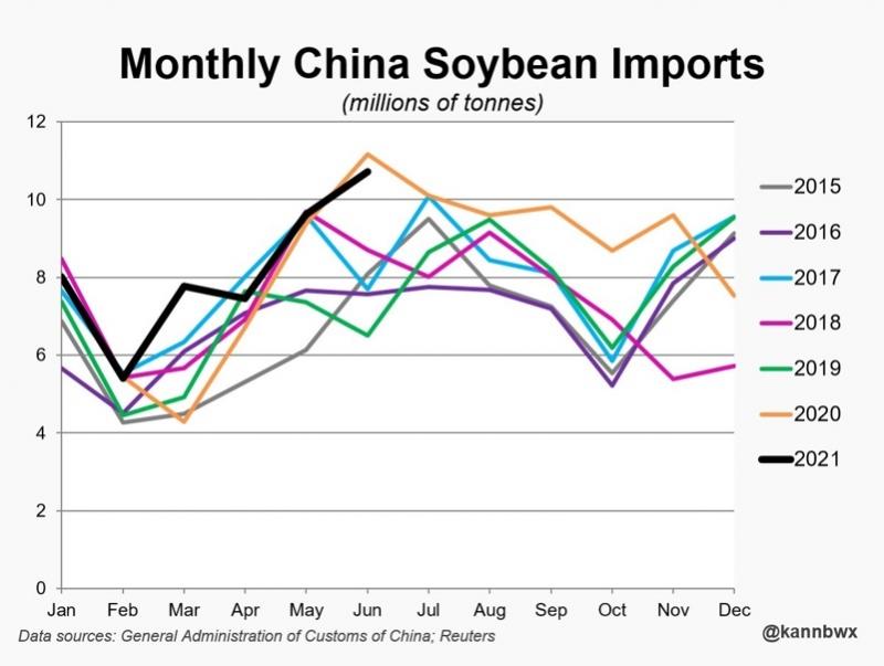 Importações Soja China