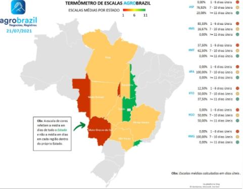 Escalas de abate dos frigoríficos a nível Brasil - Agrobrazil